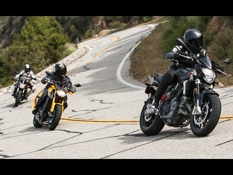 More for Less Shootout: Aprilia Shiver vs. Suzuki GSX-S750 vs. Yamaha FZ-09