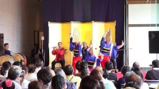 藍吹雪阿波踊りライブ「華麗なる技の競演」徳島城博物館②