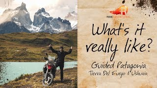 Guided Group Patagonia, Tierra Del Fuego, & Ushuaia  w/ RIDE Adventures | What's it really like?