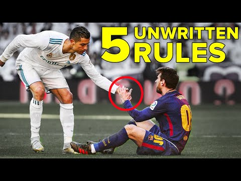 5 UNWRITTEN RULES OF FOOTBALL | Every player should know these!