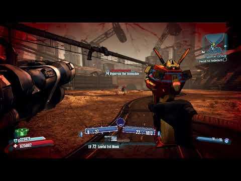 Borderlands 2 Salvador vs Voracidous speed kill (no bee