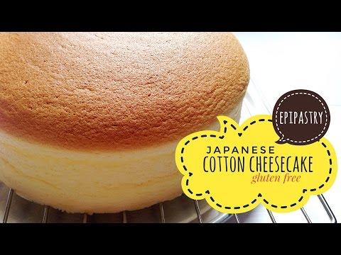Video Light Japanese Cotton Cheesecake [Gluten Free]