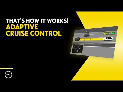 OPEL Adaptive Cruise Control – That's How It Works!