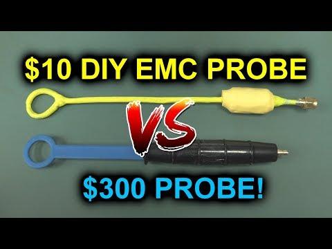 EEVblog #1178 - Build a $10 DIY EMC Probe