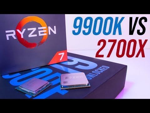 Intel i9-9900K vs Ryzen 2700X – CPU Comparisons and Benchmarks