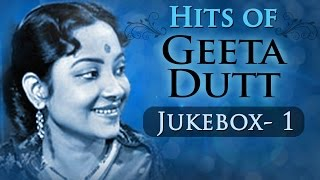 Best of Geeta Dutt Songs (HD) - Jukebox 1 - Evergreen Old Bollywood Songs - Geeta Dutt Old Hits