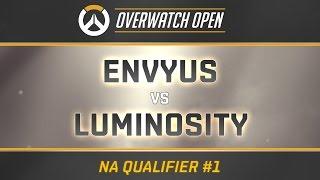 ENVYUS vs LUMINOSITY - Map 1 - Dorado (Overwatch Open - NA Qualifier #1)