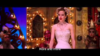 Nicole Kidman singing Come What May in the Moulin Rouge