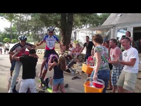 Le défi fou 2016 au camping Crac'h Le Fort Espagnol