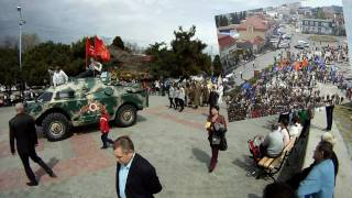 Парад Победы в Алуште (09.05.2011)