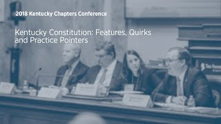 Click to play: Kentucky Constitution: Features, Quirks, and Practice Pointers
