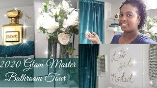 2020 Glam Master Bathroom Tour / Bathroom Decor Ideas