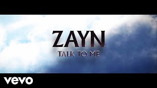 ZAYN - Talk To Me (Audio)