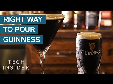 Do You Know How to Poor Guinness Properly?