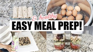 HEALTHY AND EASY MEAL PREP 2019 // SIMPLY ALLIE