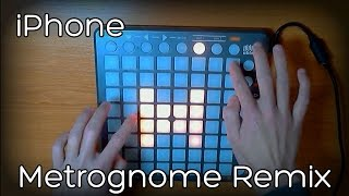 Iphone Metrognome Remix Launchpad Cover