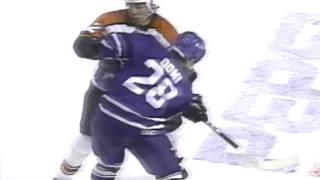 What led to the classic Hextall vs Potvin fight