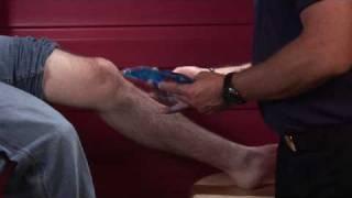 Basic First Aid : How to Treat a Knee Sprain