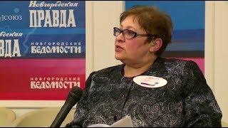 Председатель избиркома по Новгородской области Татьяна Лебедева рассказала о ходе голосования