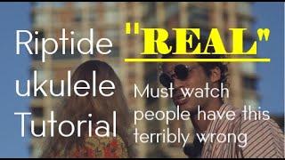 ukulele play along riptide slow - TH-Clip