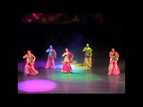 Indian dance group Champa ,Russia, Yoshkar-Ola  - Bollywood Dance   Item Bomb (видео)