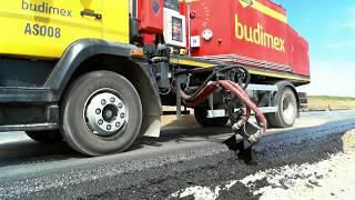 Hydrog SA-3000 Bitumen Sprayer For Road Edges / Skrapiarka - Zalewarka Do Krawędzi