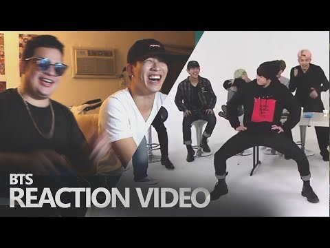 GF & BF REACT TO BTS DANCING TO GIRL GROUPS (BTS REACTION