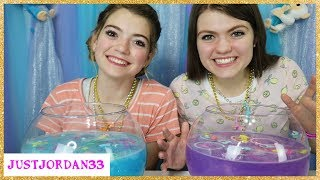 Surprise Fish Bowl Slime Challenge / JustJordan33