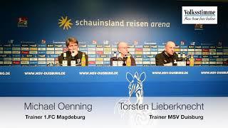 PK nach FCM-Spiel in Duisburg