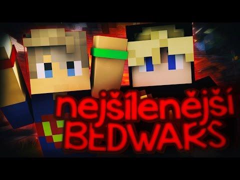 NEJBLÁZNIVĚJŠÍ BEDWARS! w/Moon & Mattem!