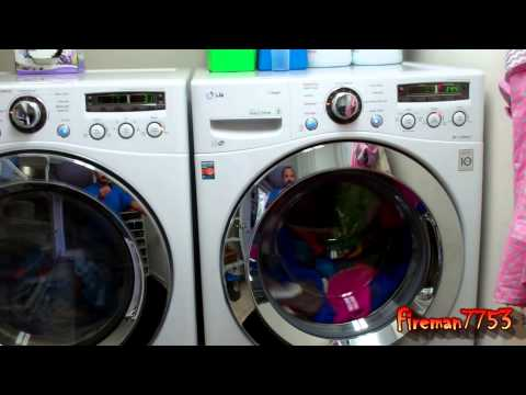 LG Front Load Washer & Dryer Review
