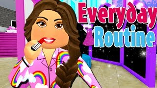 EVERYDAY ROUTINE AS A PRINCESS AT ROYALE HIGH SCHOOL   UPDATED!   Roblox Roleplay