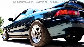 RaceLab Turbo K20 MR2 battles FL2K streets - DVD OUT NOW!