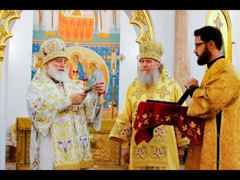 30-летие восстановления епископской кафедры и архиерейской хиротонии архиепископа Витебского и Оршанского Димитрия