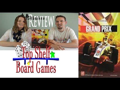Top Shelf Board Games Review of Grand Prix