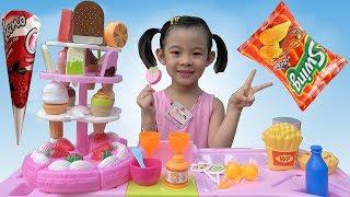 Trò Chơi Bán Hàng - Máy Tính Tiền Siêu Thị ❤ AnAn ToysReview TV ❤