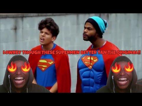 Racist Superman   Rudy Mancuso, King Bach & Lele PonS REACTION!!