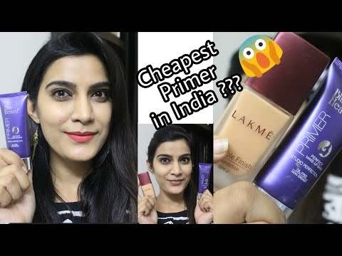 😱 India's Cheapest Primer??? Blue Heaven Primer Review & Demo | Affordable Makeup