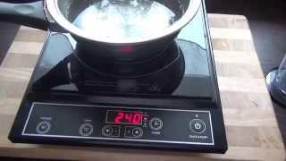 Eltac IN 20 Einzelkochplatte Induktion Kochplatte Test Wasserkocher