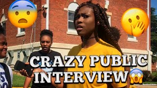 HOW DO YOU FEEL ABOUT YOUR EX ??😭 PUBLIC INTERVIEW    COLLEGE EDITION   