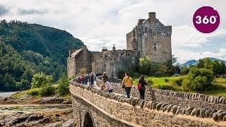 Eilean Donan Castle | 360 video