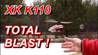 XK K110 3D RC Helicopter Review, Flight & Setup