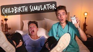 NEW VIDEO youtube2yII00ioJaM CHILDBIRTH SIMULATOR CHALLENGE FT Conor Maynard