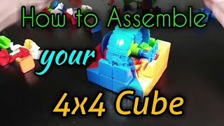How to Assemble your 4x4 Cube