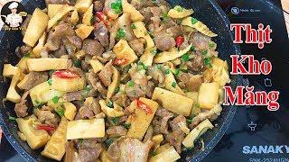 THỊT KHO MĂNG | Món ăn gia đình ngon tuyệt | Bếp Của Vợ