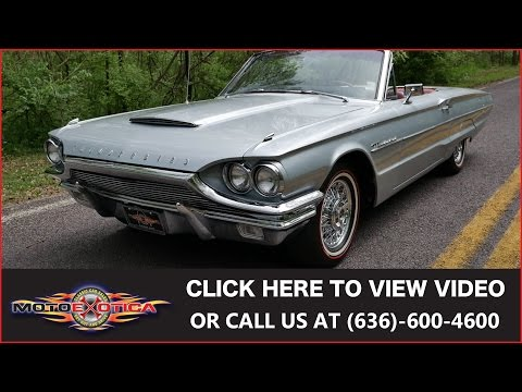 Video of 1964 Ford Thunderbird Offered by MotoeXotica Classic Cars - KH4Q