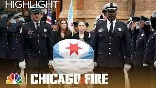 Benny Severide's Funeral Service   Chicago Fire (Episode Highlight)