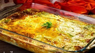 Запеканка с кабачками - сочное, простое в приготовлении и вкусное блюдо из кабачков!  | Appetitno.TV