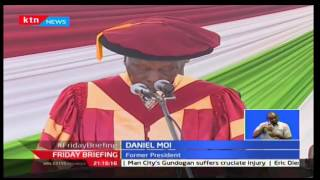 Former president Daniel Moi challenges public universities to provide education of high standard