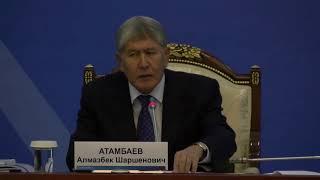 Атамбаев не будет извинятся перед престарелым диктатором Назарбаевым